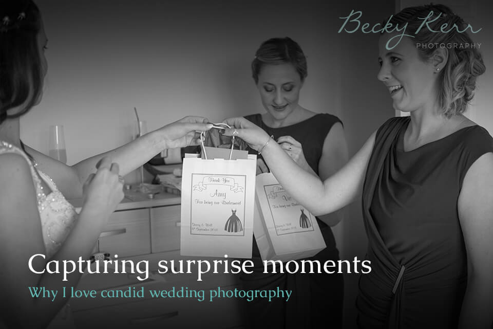Capturing surprise moments