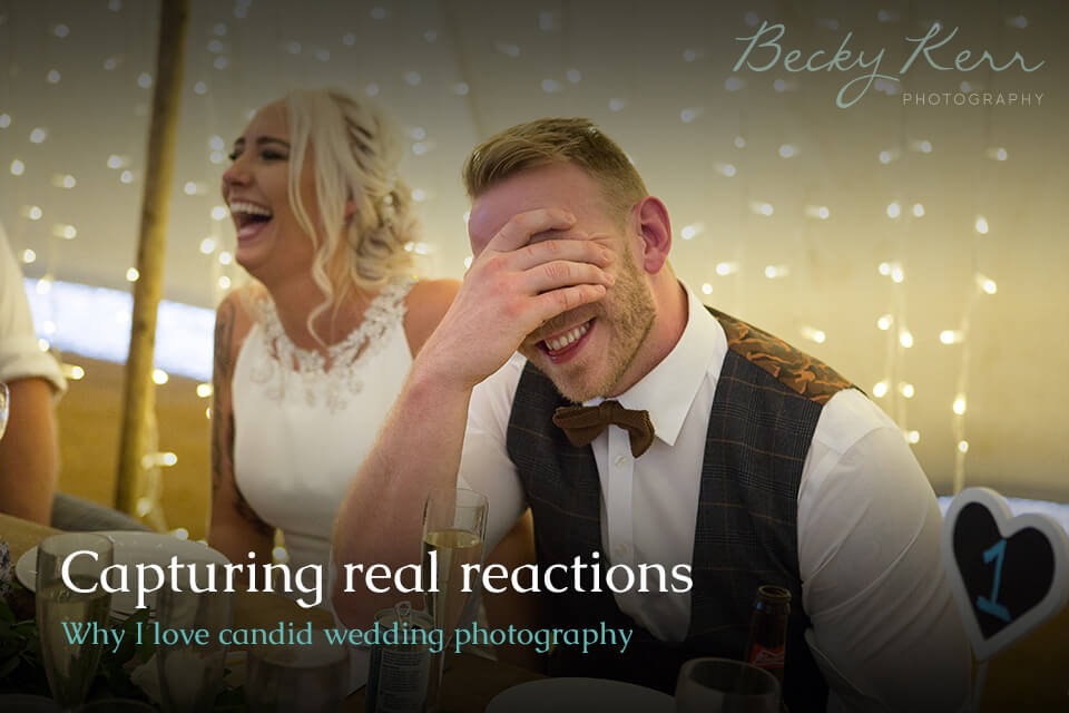 Photographing real reactions