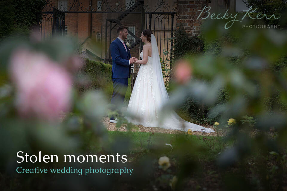 Stolen moments creative wedding photography